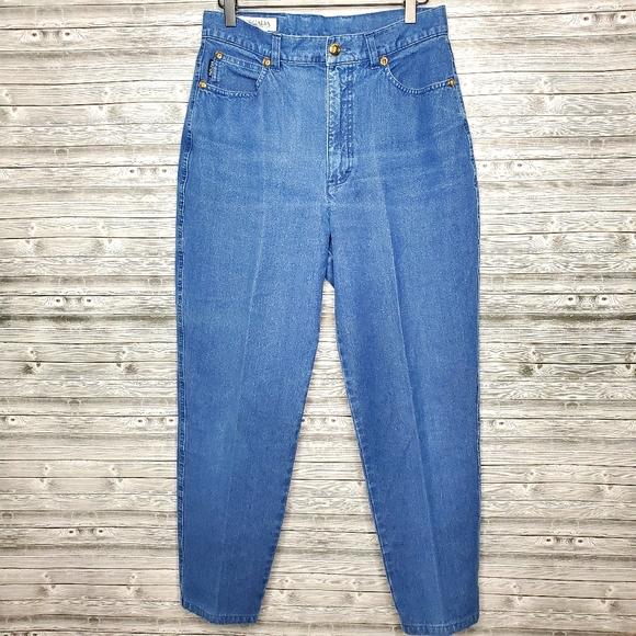 Vintage Escada High-Rise Mom Jeans